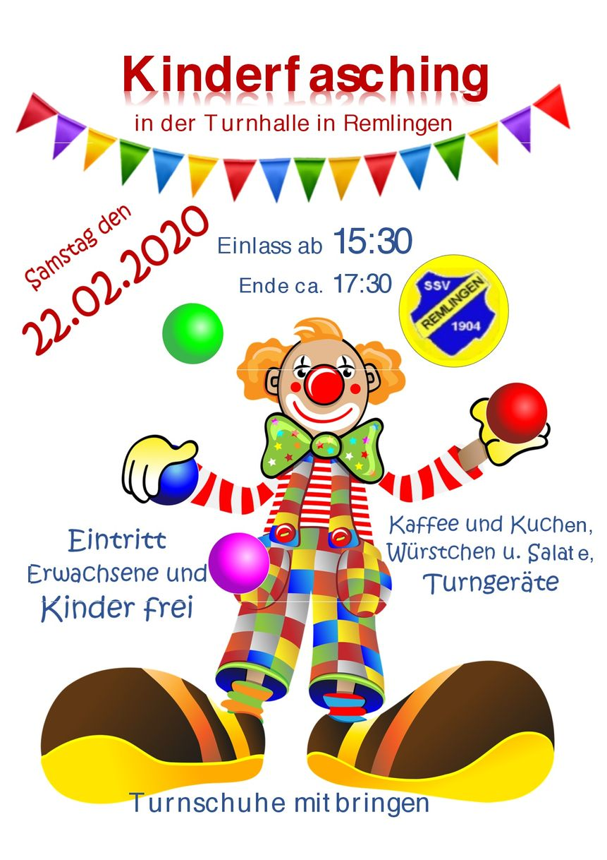Kinderfasching SSV